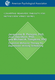 Cognitive-Behavior Therapy for Depression: Activity Scheduling